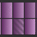 1 ELEMENT CARD BACKGROUND PATTERNS