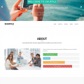 Bootstrap 3 one page template – Shuffle