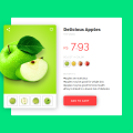 E-COMMERCE PRODUCT (DELICIOUS APPLES)