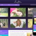 Fotoplus Gallery Mobile Website Template