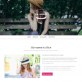 HTML Bootstrap template – Lonely