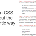 LEARN CSS LAYOUT. THE PEDANTIC WAY