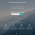 Maundy – Free Coming Soon Bootstrap Theme
