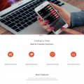 Multi – Responsive Bootstrap Template