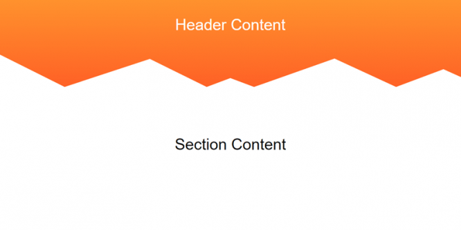 CREATING NON-RECTANGULAR HEADERS