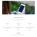 eNno – Free Simple Bootstrap Template