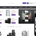 Smart Store E-commerce Online Shopping Mobile Website Template