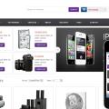 Smart Store E-commerce Online Shopping Mobile Website Template
