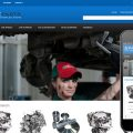 Spare Parts Automobile Mobile Website Template