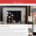 Decorator interior architects Mobile Website Template