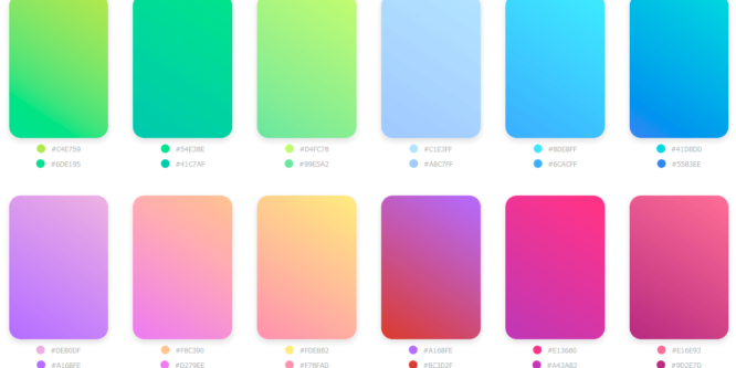 GRADIENT COLLECTION