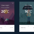 BOOTSTRAP WEATHER CARD UI