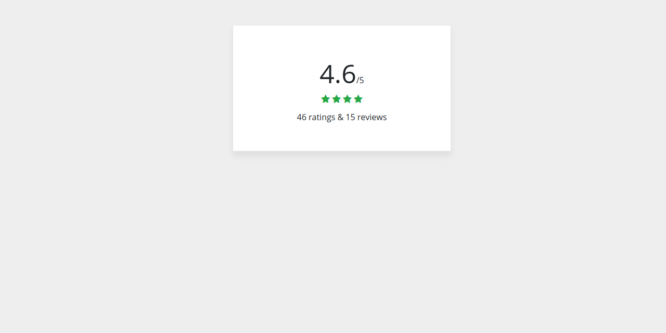 BOOTSTRAP 4 SIMPLE RATING
