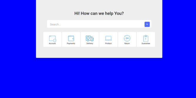 BOOTSTRAP 5 SEARCH