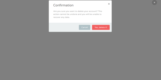 BOOTSTRAP CLASSIC CONFIRMATION MODAL