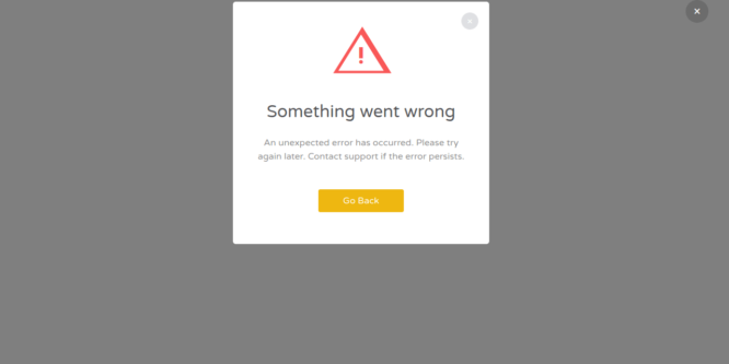 BOOTSTRAP CLEAN WARNING POPUP