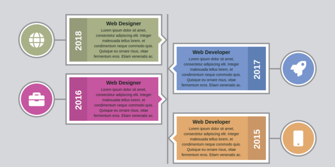 BOOTSTRAP TIMELINE STYLE 25