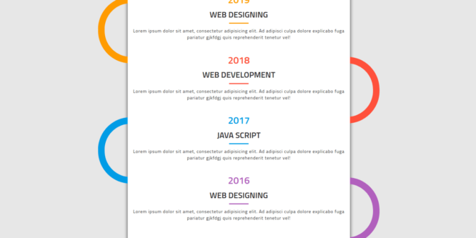 BOOTSTRAP TIMELINE STYLE 66