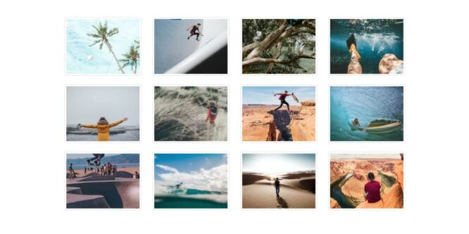 BOOTSTRAP 4 GALLERY WITH IMAGE THUMBNAILS