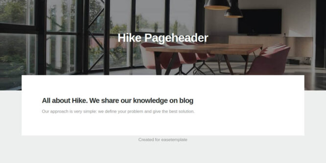 BOOTSTRAP PAGE HEADER