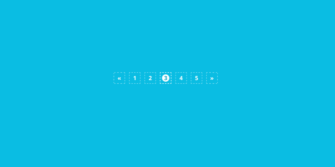 BOOTSTRAP PAGINATION STYLE 56