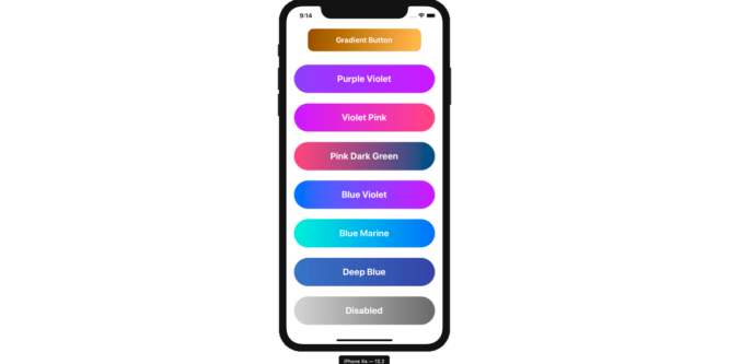 REACT NATIVE GRADIENT BUTTONS