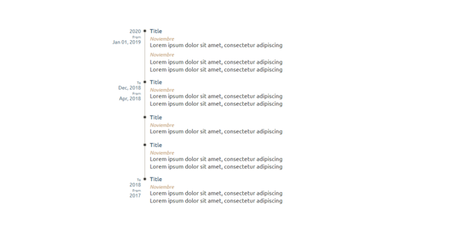 VERTICAL TIMELINE COMPONENT REACT
