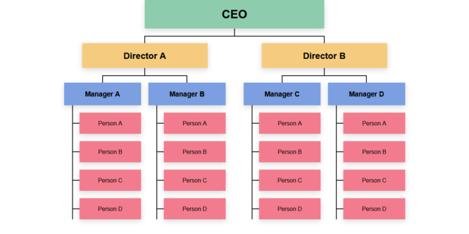 CSS-ONLY ORGANIZATIONAL CHART
